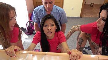ดูหนังโป๊ออนไลน์ Fake Hostel Italian Thai and Czech soccer babes squirting in crazy orgy